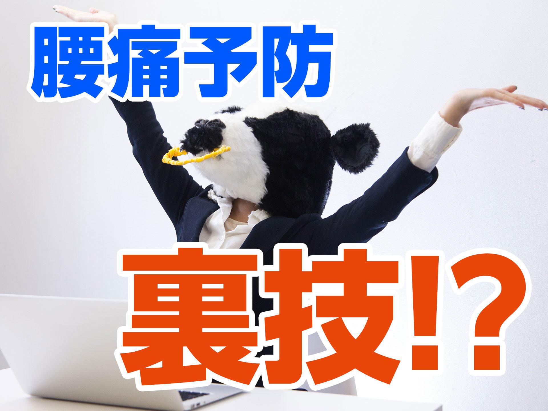 デスクワークで腰痛を予防する裏技!|町田deマッサージ!